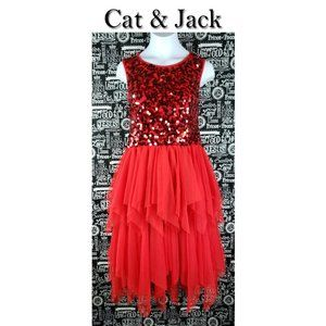 Cat & Jack Sequins Dress Size XL 14/16